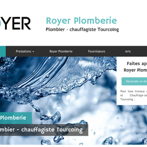 Royer Plomberie Tourcoing, dépannage plomberie